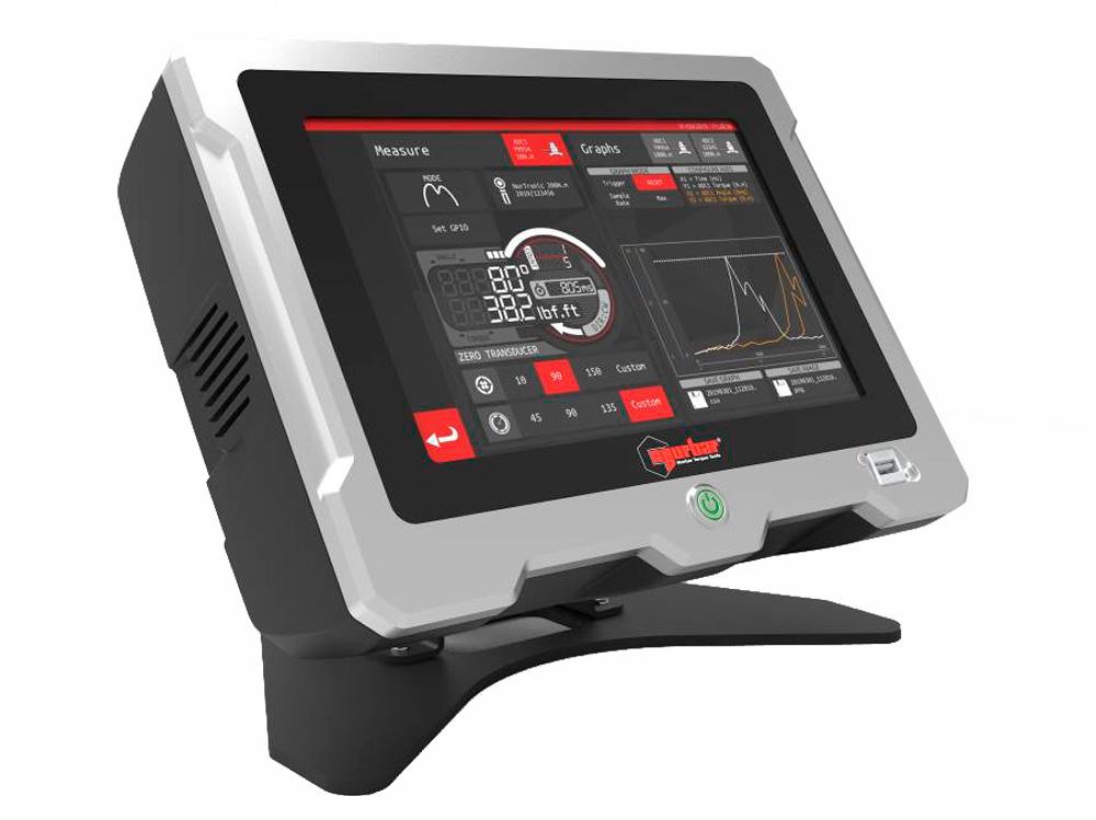 Lettore di coppia norbar per la calibrazione di strumenti dinamometrici con Touch-screen a colori e memorizzazione dati tramite software TDMS dedicato